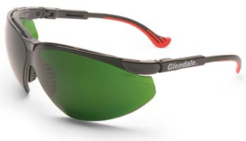 Non-Laser Intense Pulse Light Eyewear. LGF Frame With Medium Green Filter