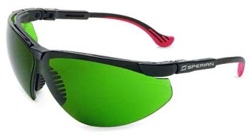 Non-Laser Intense Pulse Light Eyewear. XC Frame With Dark Green Filter