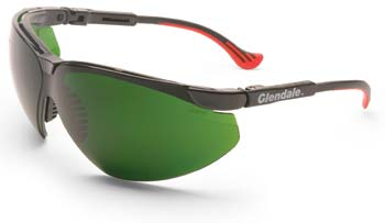 Non-Laser Intense Pulse Light Eyewear. XC Frame With Medium Green Filter