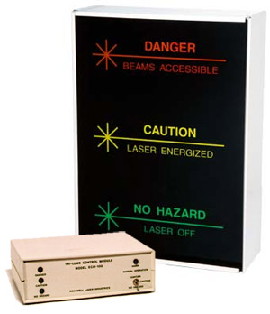 Trilume Three Way Illuminated Sign With Control Module