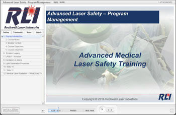Advanced Medical Laser Safety