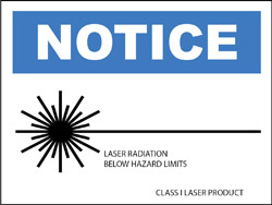 Class I Specialty Label -Notice