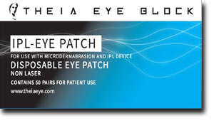 Theia IPL Eye Block (box of 50 pair) - Eye Shields for IPL Protection