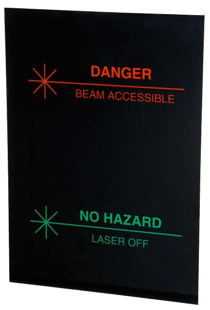 Plastic Sign for Face of Bi-lume Lighted Sign