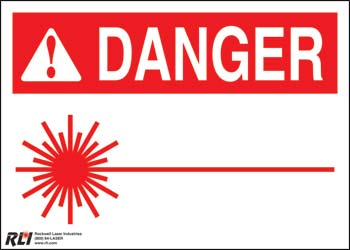 PVC Blank Danger Sign